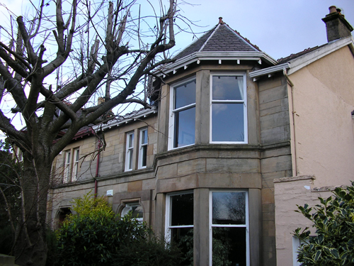 Domestic Sash Windows Refurbishment East Lothian
