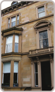 listed window refurbishment Glasgow